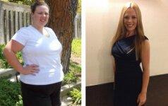 Jos numetė bent po 45 kilogramus ir tau pataria, kaip mesti svorį