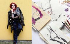 """""""Vogue"""" sudominusi mados iliustratorė Anya Dee: savo kitoniškumą jaučiau nuo pat mažens"""