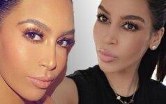 Nepatikėsi, bet čia visai ne Kim Kardashian!