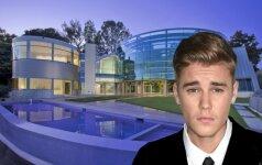 Kas slepiasi už prabangių Justino Bieberio namų durų