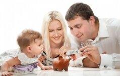 Pinigus šeimai siūlo mokėti už kiekvieną vaiką