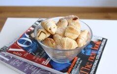 Sausainiukai su obuoliais