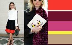 Madingiausios spalvų kombinacijos, kurias turi žinoti šį sezoną