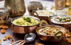 Paragaukite gardžių patiekalų, kuriuos jums pagamins šefai iš Indijos bei Nepalo. Laimėtojas