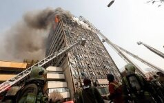Обрушился самый старый небоскреб Ирана: под завалами находятся пожарные