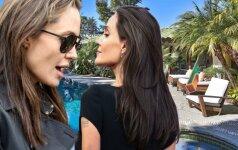 Naujieji Angelinos Jolie kaimynai nelabai patenkinti žvaigždės pasirodymu