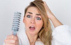 Netikėtos plaukų slinkimo priežastys ir geriausi būdai joms įveikti