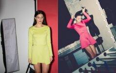 Trapioms, bet drąsioms merginoms - modernios suknelės