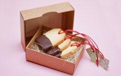 Gardūs sausainiai, tinkantys dovanai (FOTO)