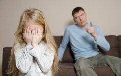 Psichologė: balso pakėlimas nėra tinkamas būdas drausminti vaikus