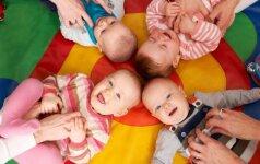 Sparčiai populiarėjanti pramoga kūdikiams: daugiau naudos ar žalos