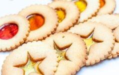Tai bent grožis: sausainiai su langeliais