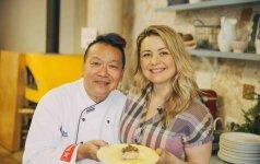 Beatos studijoje – tailandietiškos virtuvės pamokos. Balandėlių tailandietiškai receptas