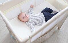 Kūdikio miegas: kas padės užtikrinti, kad mažylis gerai pailsėtų