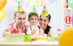Patarimai, kaip surengti nepakartojamą gimtadienį
