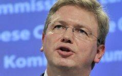 Фюле выступает за принятие в ЕС Украины, Молдовы и Грузии