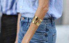 Kokius džinsus pirksime šiemet? Madingiausi ilgiai, spalvos ir modeliai