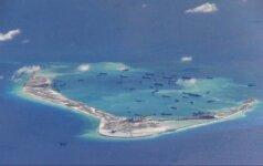 Корабль ВМС США приблизился к островам, контролируемым Китаем
