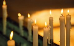 В Каунасском районе мужчина скончался за рулем автомобиля