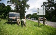 Под Вильнюсом столкнулись автомобили, пострадала беременная женщина