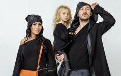 Donatas Baumila su dukryte Smilte tapo modeliais (FOTO)