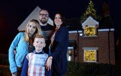 Ypatingas siurprizas šeimai, kurios Kalėdas pernai pavogė vagys FOTO