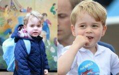 Mažasis princas per kalėdinį vaidinimą gavo toli gražu ne karališką vaidmenį