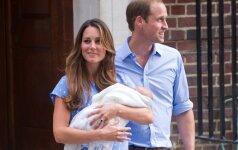 Greitas gimdymas: K.Middleton pagimdė per 2 valandas