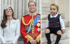 Atskleidė, kaip šiandien atrodo princas George'as FOTO