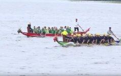 В Висагинасе пройдут гонки на лодках-драконах