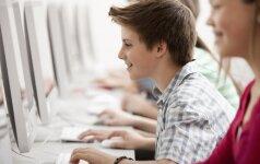 Vaikai kviečiami internete atlikti testą ir pasitikrinti, ar jie nepatiria patyčių