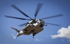 В пятницу вечером вертолеты США низко пролетят над Латвией