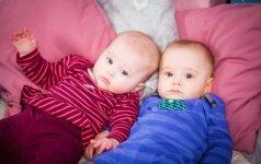 Pagimdė dvynes, kurios pradėtos skirtingų vyrų