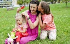 Po didelių pastangų dukrytės susilaukusios Lauros Imbrasienės pirmasis interviu