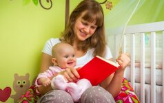 Kodėl reikia skaityti knygas vaikui nuo gimimo