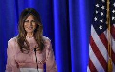 Naujoji Amerikos ledi: faktai, kurių nežinojome apie Melanią Trump (FOTO)