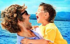 5 patarimai, kaip nepavargti atostogaujant su vaikais