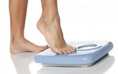 Lentelė, kuri padės išsiaiškinti savo idealų svorį pagal ūgį ir amžių