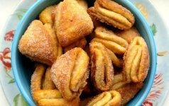 Varškės sausainiai Bučinukai