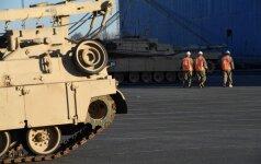 В Клайпедский порт прибудет бельгийская военная техника