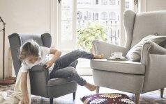 10 svarbiausių principų, kaip įrengti saugius ir patogius vaikams namus