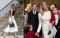 Stiliaus dosjė. Ivanka Trump – pirmoji JAV dukra, dar ieškanti būdų pavergti amerikiečių širdis