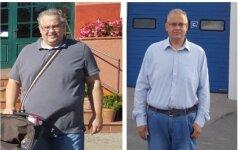 40 kilogramų atsikračiusio kauniečio kova su antsvoriu dar nebaigta