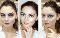 Neįtikėtina: kaip moters veidą keičia antakių ryškumas ir forma