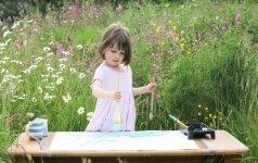 5 metų autistės talentas stebina pasaulį FOTO