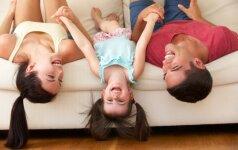 15 priesakų norintiems užauginti laimingus vaikus