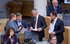 Agnė Širinskienė, Ramūnas Karbauskis, Povilas Urbšys, Petras Gražulis