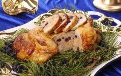 Įdarytas viščiukas pagal Ruslaną Bolgovą. 5 receptai