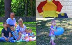 Likimo išbandymų patyrusi trijų vaikų mama nenuleidžia rankų ir siekia savo svajonių