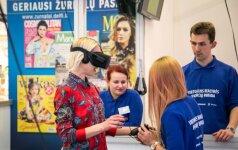 Vilniuje atidaryta paroda kviečia pasinerti į virtualią realybę